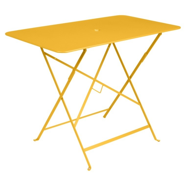 Fermob Bistro Rectangular Folding Table Cm. 57x97 Honey