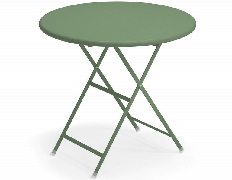 Emu Arc en Ciel folding table Ø cm. 80