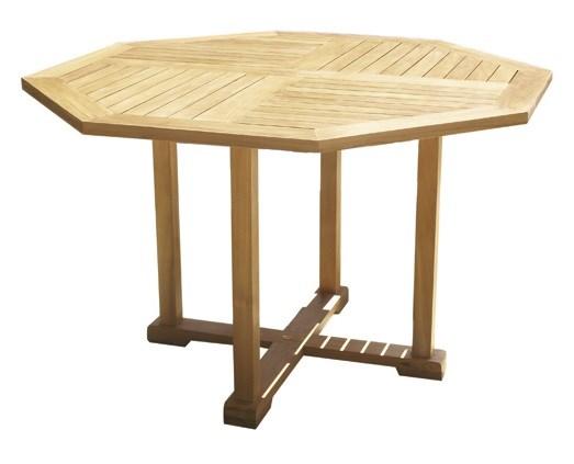 Bristol octagonal table teak wood centro mobili giardino for Mobili giardino teak
