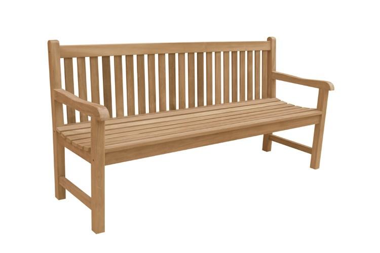 Classica 3 4 seat bench teak wood centro mobili giardino for Centro italiano mobili
