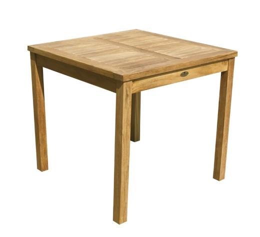 Dehors square table teak wood centro mobili giardino for Centro italiano mobili
