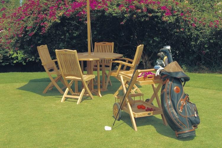 Moon folding chair centro mobili giardino teak for Mobili giardino teak