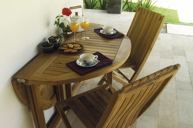 Onda folding chaircentro mobili giardino teak for Mobili giardino teak