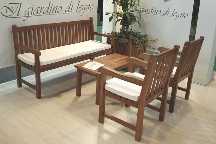 Classica 3 seat Bench teak wood Centro Mobili Giardino