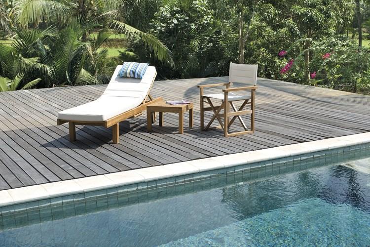 Regista director 39 s armchair centro mobili giardino teak for Mobili giardino teak