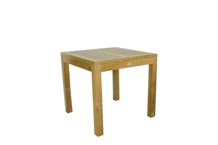 Venezia square table teak wood centro mobili giardino for Centro italiano mobili