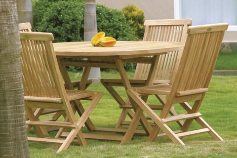 Bristol folding chair centro mobili giardino teak for Mobili giardino teak