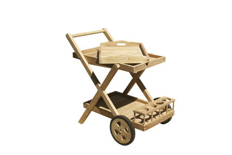 Trolley Service Cart teak wood